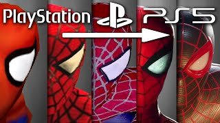 PS1 to PS5 Graphics Evolution: 1994 - 2020 PlayStation Graphics History