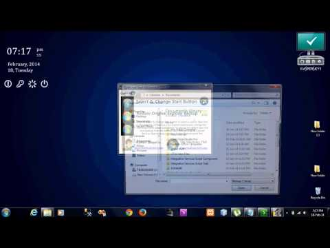 How to Change Windows 7 Start Menu Button (ORB)