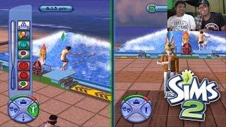 The Sims 2 (2) RUMAH PANTAI !!
