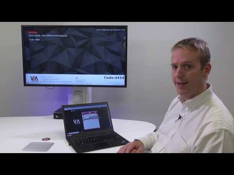 Kramer VIA Campus PLUS – Chrome Browser Plugin - YouTube