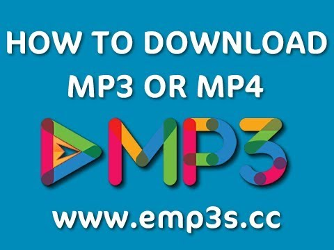 How to Download MP3 or MP4 file from eMP3 Downloads - eMP3z.com