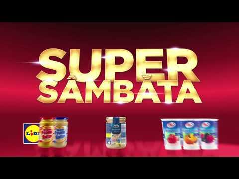 Super Sambata la Lidl • 31 Martie 2018
