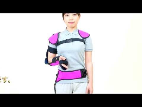 健康障害を体感し、よりよい支援活動に「装着型関節拘縮シミュレーター」