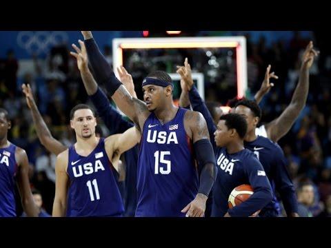 Team USA basketball on Olympic challenges