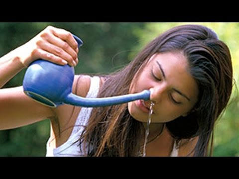 Jal Neti - Nasal Cleaning, Helps to Remove Dirty and Infected Mucus from the Nasal Cavity - English