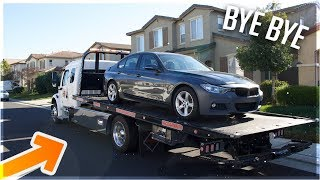 F30 GOES TO THE SHOP! (PAINT AND BODY WORK)