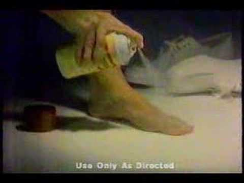 Desenex Athletes foot commercial