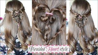 Fun Valentine Hairstyle idea | Valentine Hairstyles | Braidsandstyles12