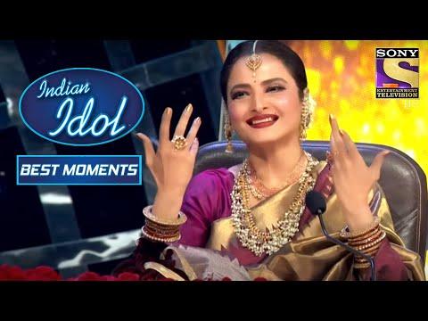 Himesh ने Rekha Ji के लिए 'Ladki Hai Ya Shola' पे गाया | Indian Idol Season 12