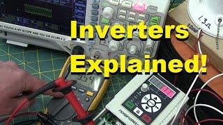 BOLTR: Inverter VFDs explained, teardown and test