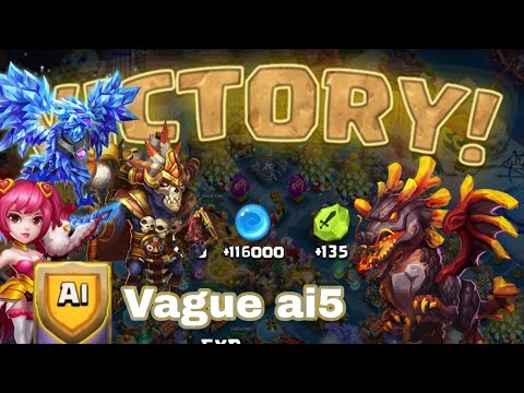 Castle Clash Vague Ai