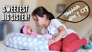 The Sweetest Big Sister! - itsjudyslife