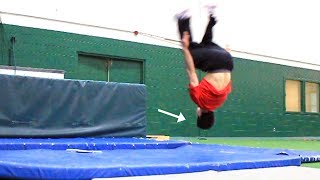 Me Learning How to Backflip for the first time, and more...