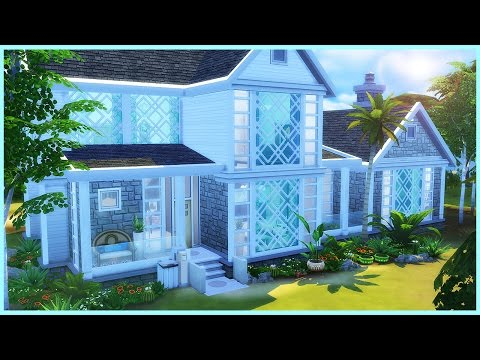 Sims 4 House Build - Beachside Contemporary