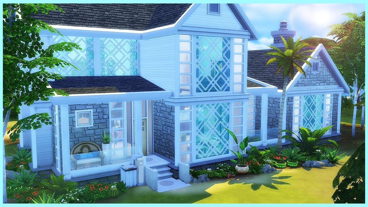 Sims 4 House Build Beachside Contemporary Youtube