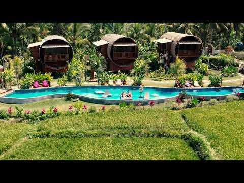 Adiwana Bee House - Bamboo Villa in Bali