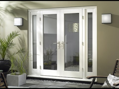 Patio French Doors With Sidelights For Home Youtube