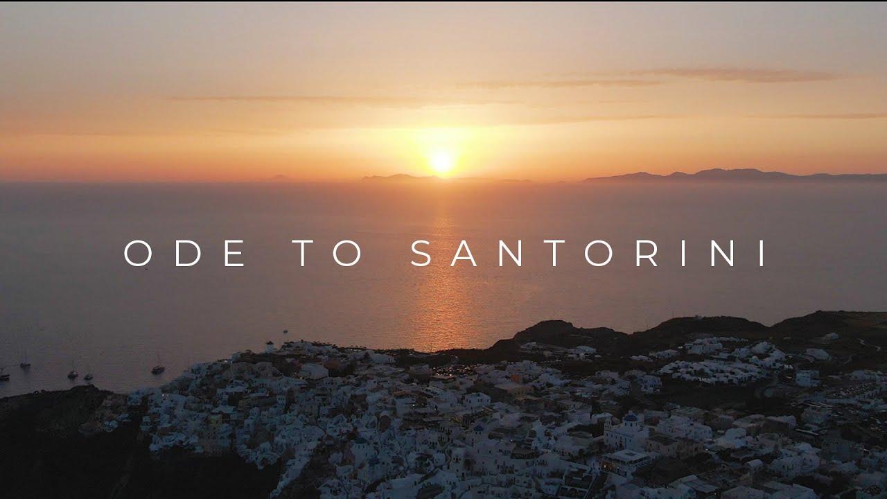 An Ode to Santorini...