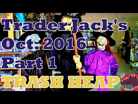 Trader Jack's Flea Market Visit (October 2016) [Part 1] - Trash Heap