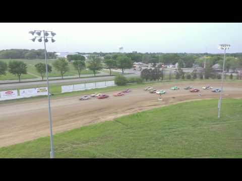 IMCA Stock Car - Feature Race - Clay County Speedway - Spencer, IA, 6/2/2019