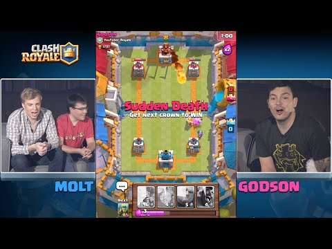 Clash Royale: YouTuber Tournament (full version)