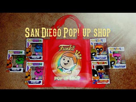 SDCC Funko Pop! Up shop 2017 buys