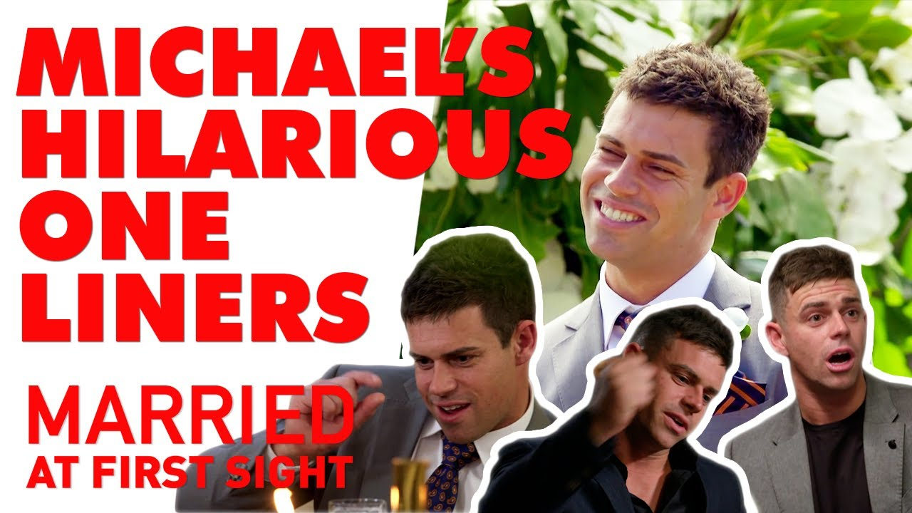 Michael's hilarious one liners | MAFS 2020