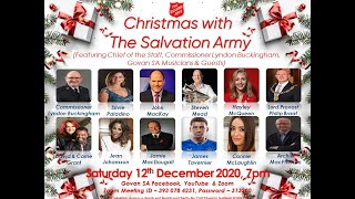 Govan - Christmas with The Salvation Army