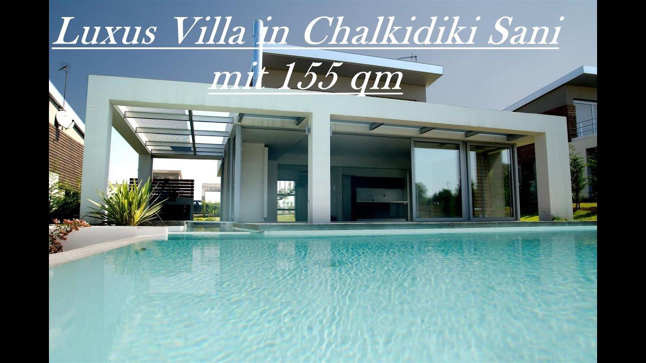 Luxus Villa Sani Chalkidiki mit 155 qm - YouTube
