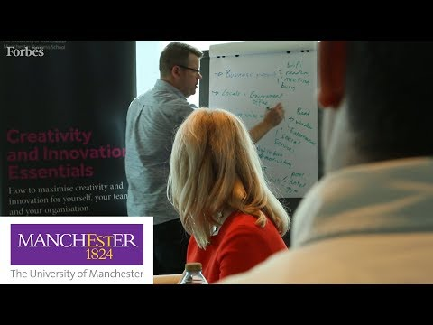 University of Manchester Middle East Center 'Creativity & Innovation Essentials'