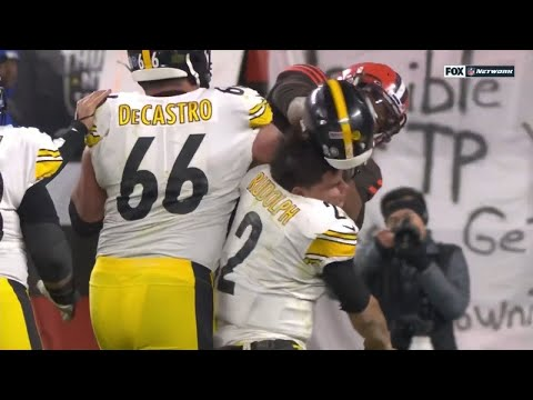 Lewis & Logan - Browns And Steelers Fight