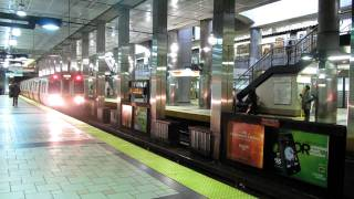 Orange Line Subway in Boston