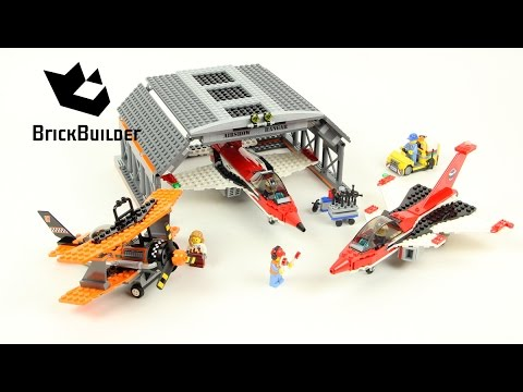 Lego City 60103 Airport Air Show - Lego Speed Build