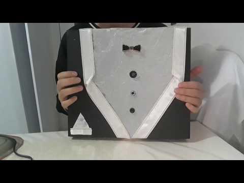 DIY // Damat Kutusu Hediye ( Nasıl Yapılır )