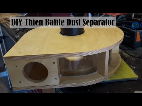 DIY Thien Baffle build - part 2 of dust collection