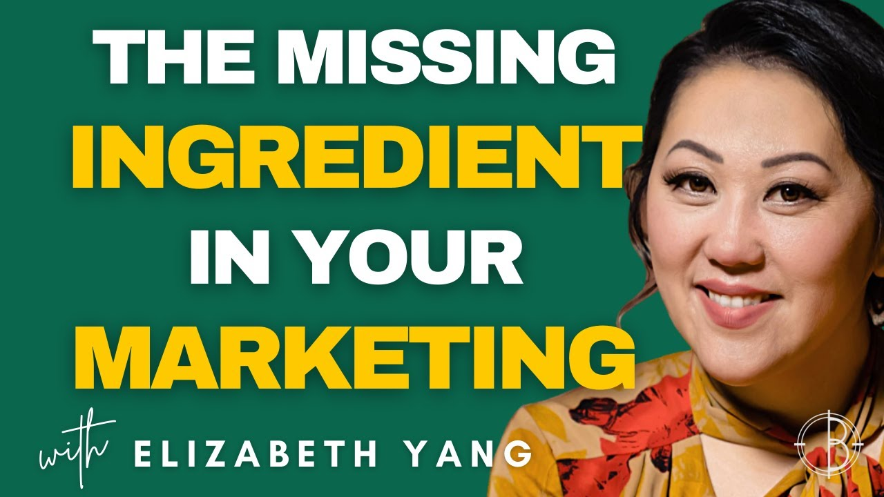 THE MISSING 🤷  INGREDIENT IN YOUR MARKETING