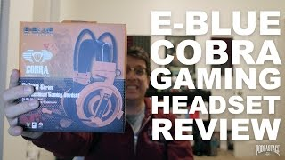 E-Blue Cobra Series Gaming Headset (EHS013) Review / Test
