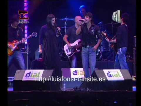 Luis Fonsi y Laura Pausini - Todo Vuelve a Empezar (Lo mejor de aquí 2008 - Cadena Dial) 2/3