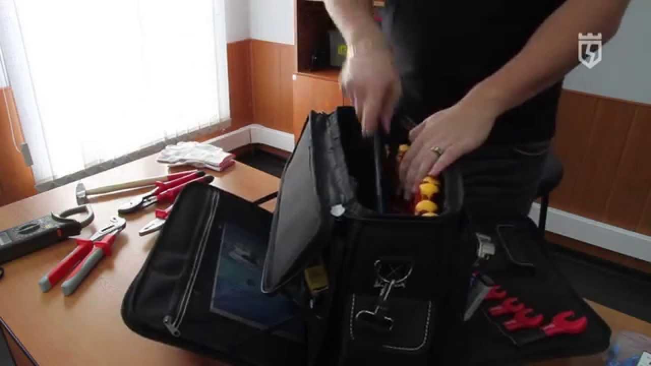 6a32799431aa Сумка монтажника С-04 КВТ (кейс) - YouTube