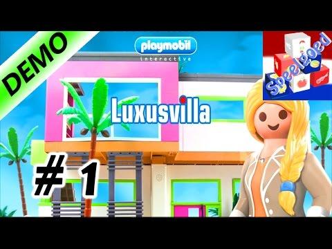 PLAYMOBIL LUXEVILLA Spel voor iOS & Android – Wij betrekken het grote Playmobil Huis – Dag 1