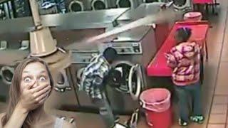 아이가 드럼세탁기에...위험한장난!원룸,펜션등 중고세탁…