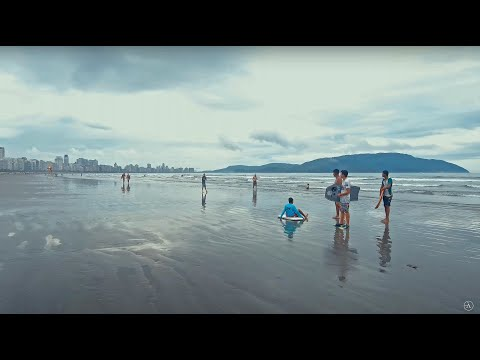 SANTOS BRAZIL WALKTHROUGH QUICK TOUR - 4K Travel And Natural Ambiance HD