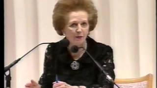 元英国首相マーガレット・サッチャー女史<第5回特別講演会>