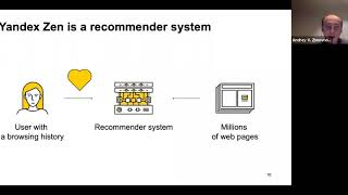 HSE Master of Data Science Industry Webinar - Recommendations Systems and How to Train Them