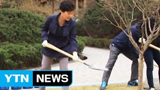 Pres. Park Plants National Flower On Arbor Day / Ytn