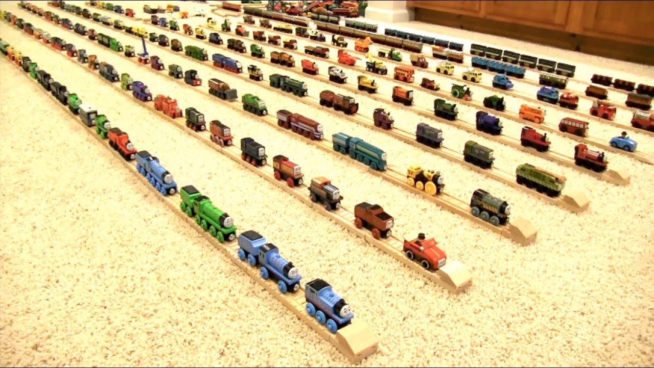 Thomas Wooden Railway Collection 7 Youtube