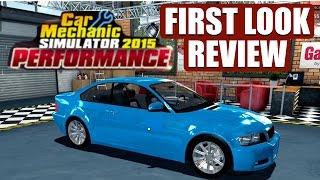 Car Mechanic Simulator 2015 PERFORMANCE DLC First Look & Review