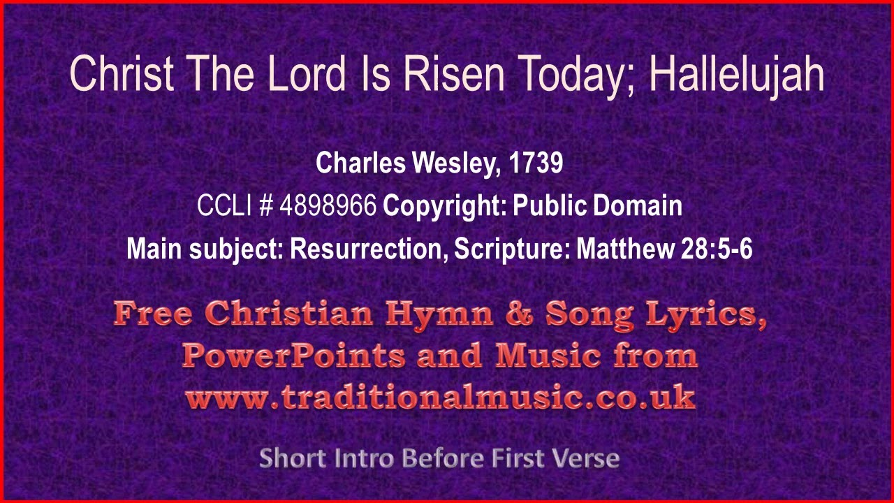Collection Hallelujah Easter Lyrics Pictures - The Miracle of Easter