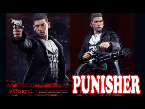 PUNISHER de NETFLIX  16 SCALE COLLECTION FIGURE MADSKULL NO HOT TOYS