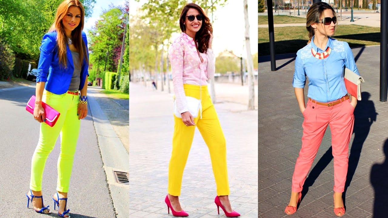 Los mejores outfits color ne n de moda 2017 youtube - Colores de moda ...
